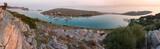 Panoramic View over Vela Panitula, Kornati National Park, Croati