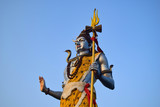 Shiva god big statue in Haridwar