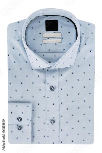 Patterned men's shirt Poster