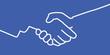 poignée de main - accord - symbole - pictogramme - logo - équipe - réussite