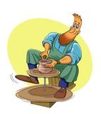 A Potter makes the Jug - 161267415