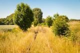 Alte Eisenbahnstrecke stillgelegt