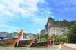 barca de madera tradicional tailandesa III