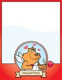 Cartoon Cat Cupid Graphic