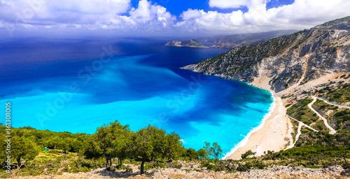 amazing beaches of Greece series - Myrtos in Kefalonia