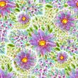 Watercolor flowers - 161311865