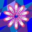 Beautiful flower pattern - 161330094