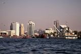 Dubai. Silhouette