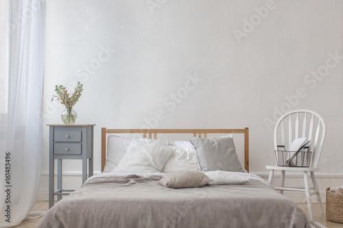 Plagát Classic interior of bedroom
