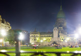 Palace of National Congress in evening