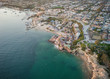 Aerial of Newport Beach Corona Del Mar