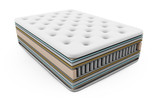 3D illustration of the contents of the mattress layers with pocket springs - 161549088