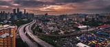 Panorama of Kuala Lumpur city