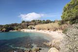 Presqu'île de Giens, Ouest de la plage de la Polynésie