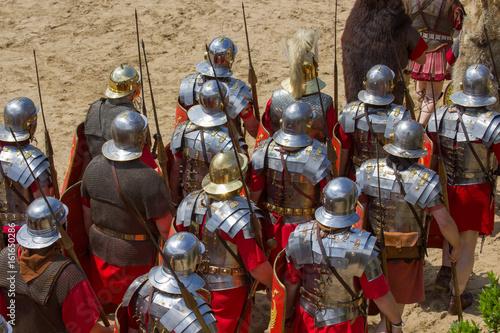 rom römer römisches reich limes rüstung grmanen Poster