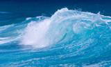 Frozen motion of ocean waves off Hawaii - 161672864
