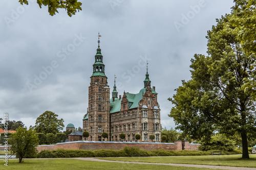Rosenborg castle Copenhagen, Denmark Poster