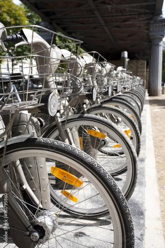 location de vélib à Paris Poster