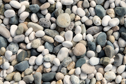beach stones background - 161804452