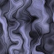 Mysterious oval curve waves dark and blue abstract seamless pattern
