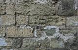 Rough limestone wall