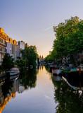 Golden Hour in Amsterdam
