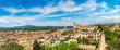 Panoramic view of Girona - 161855827