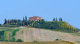 Bauernhof in der Crete Senesi Toskana