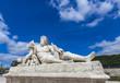 Statue Le Tibre in Tuileries Garden in Paris