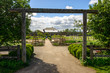 Entrance into the Gardens at Fort Vancouver National Historic Site