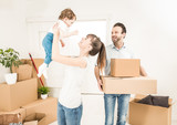 The family moves to a new apartment. - 161890001