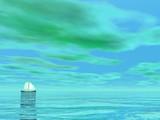 Smal sailboat - 3D render