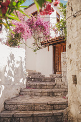 Turkish narrow streets