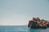 Beautiful landscape on the sea