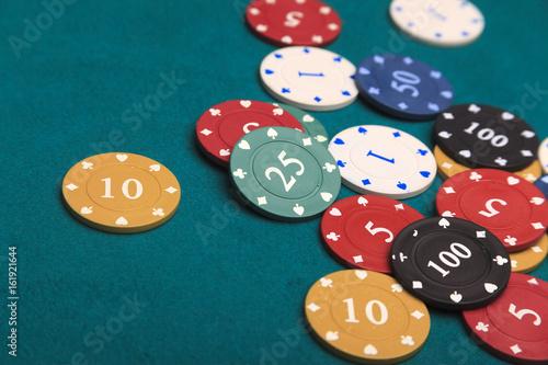 Gambling Chips плакат