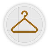 Icon Schaltfläche - Aufhänger