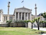 Greece Athens Panepistimiou Street Academy of Athens