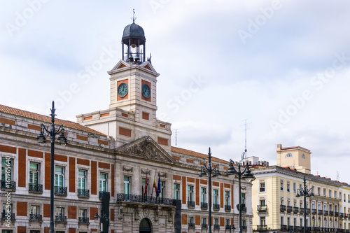 Foto op Aluminium Madrid street view of downtown madrid, The city has a population of almost 3.2 million