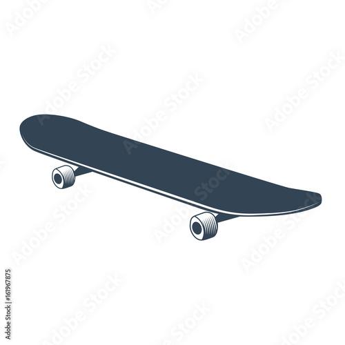 Plexiglas Skateboard skateboard vector