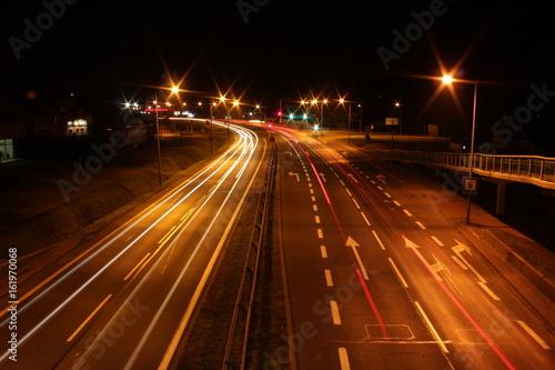ruch miejski nocą