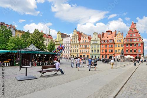 obraz lub plakat Solny square, Wroclaw, Poland