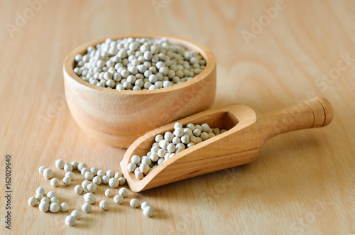 peppercorn on table
