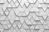 Triangular Tiles 3D Pattern Wall - 162031274