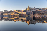 Morning view of Sodermalm island in Stockholm