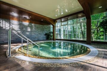 Big luxury hot tub