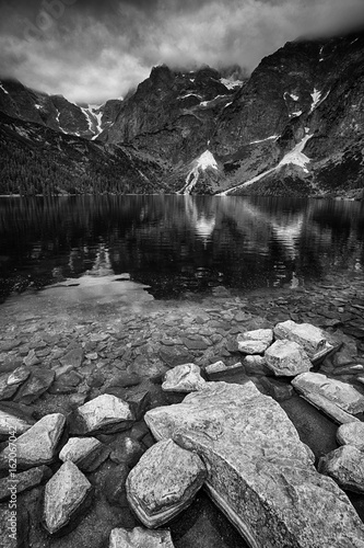 Morskie Oko lake in Poland