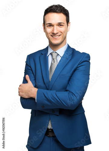 Young manager portrait