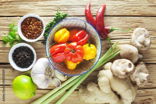 Asian Cuisine - Ingredients - 162100089