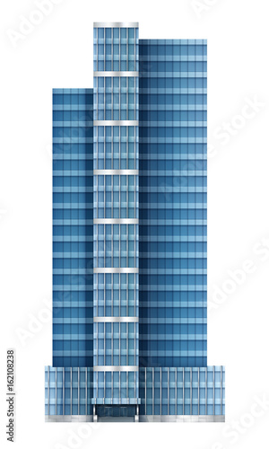 Illustration of Modern Building