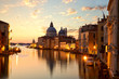 Quadro Sunrise over Grand Canal in Venice, Italy